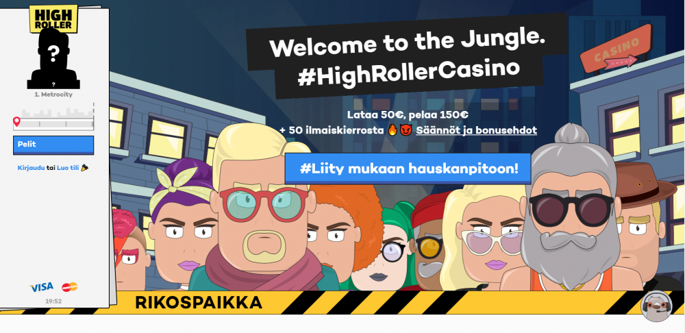 Highroller screenshot