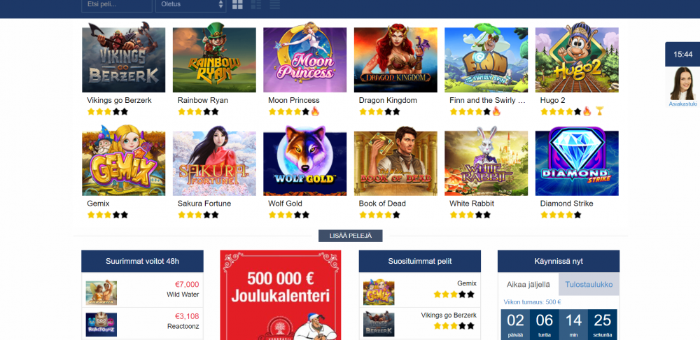 Finlandia Casino screenshot 2