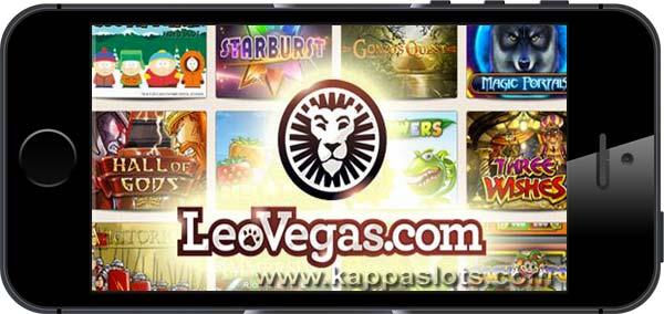 Parhaat mobiilikasinot - Leo Vegas