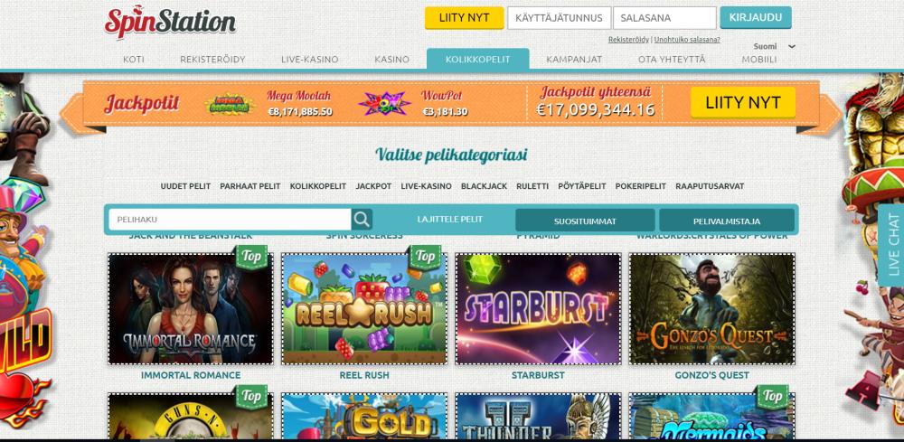 SpinStation kasino