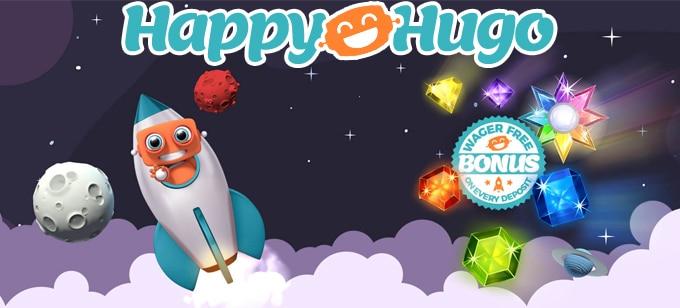Kierrätysvapaat bonukset Happy Hugo