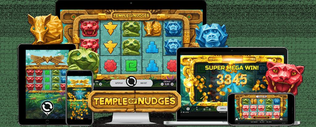 Temple of Nudges, NetEnt