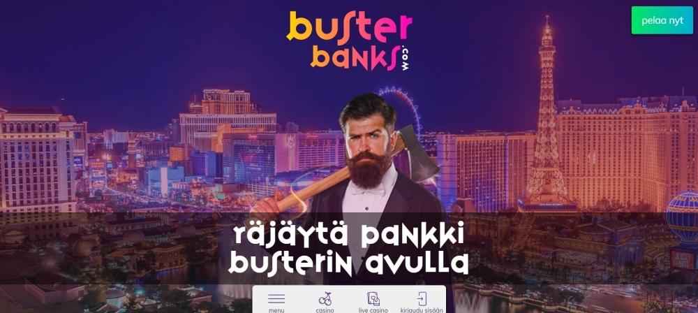 Räjäytä pankki busterin avulla upouudella kasinosivustolla