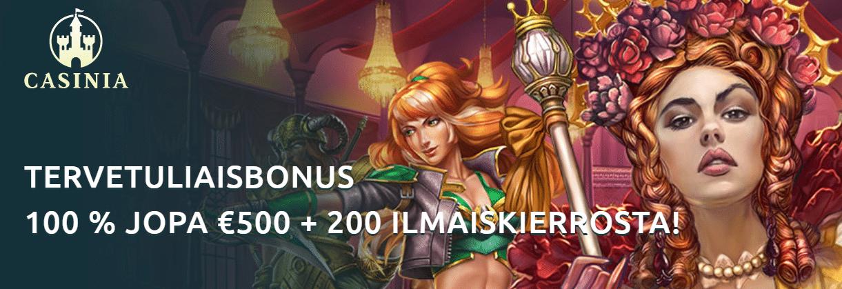 Casinia on lanseerattu – saatavilla yli 1 000 peliä!