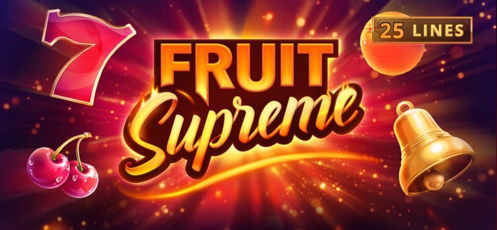 Fruit Supreme 25 Lines, Playson