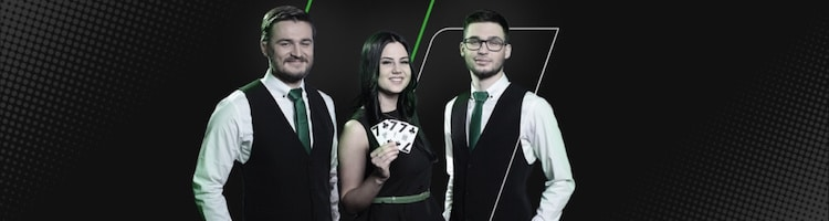 Live Kasino 25 000 Euroa