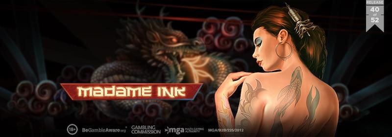Päivän kasinopeli: Madame Ink