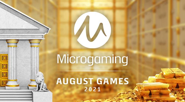 Microgaming julkaisee elokuussa liudan uusia pelejä