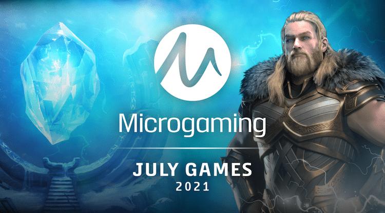 Microgamingin heinäkuun 2021 uutuudet