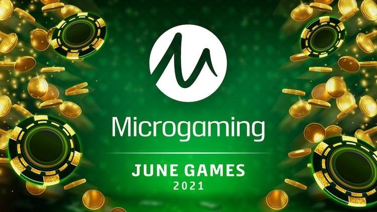 Microgamingin kesäkuun 2021 pelit