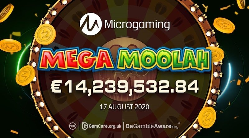 Yli 14 milj. euron jättivoitto Mega Moolahissa