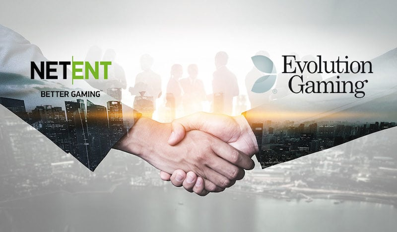 Evolution Gaming osti NetEntin