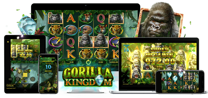 NetEntin uutuus Gorilla Kingdom on täällä