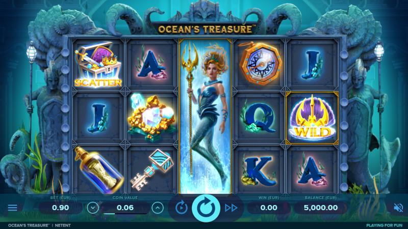 Esittelyssä NetEntin helmikuun uutuus Ocean's Treasure