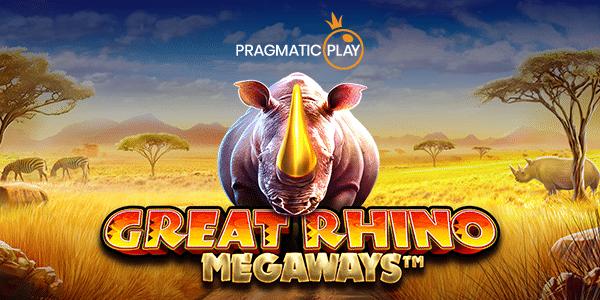 Päivän uutuuspeli: Great Rhino Megaways