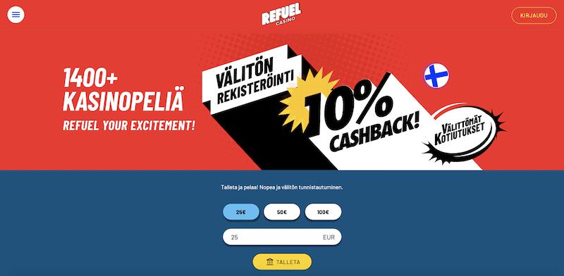 Uusi Refuel Casino -kasino