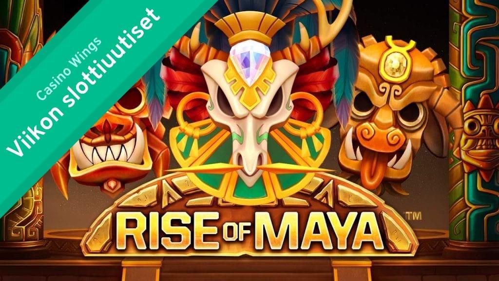 Viikon slottiuutiset: merenalaisseikkalua, karnevaalia ja maya-kulttuuria