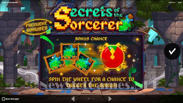 secrets of the sorcerer