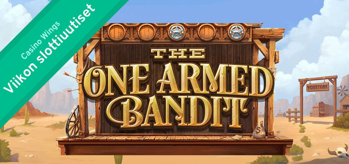 The One Armed Bandit Yggdrasil Slottiuutiset