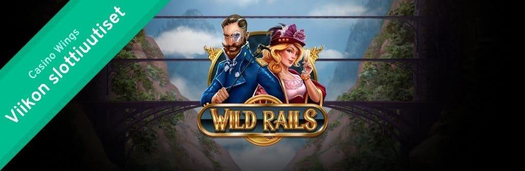 Wild Rails, Play'n Go Slottiuutiset