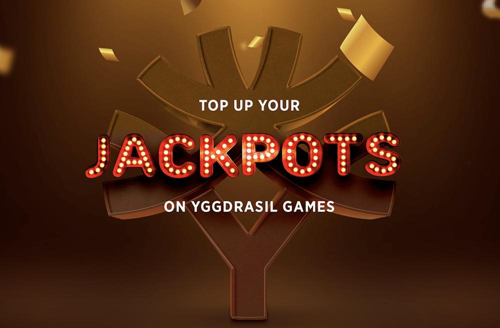 Yggdrasil lanseeraa uuden Jackpot TopUp -toiminnon