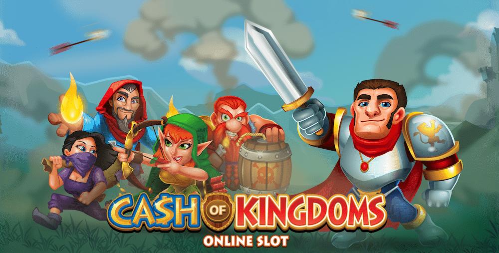 Oletko kokeillut Microgamingin Cash of Kingdoms -peliä?