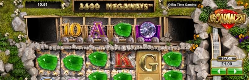 Pelaa Megaways-toiminnon sisältäviä slotteja