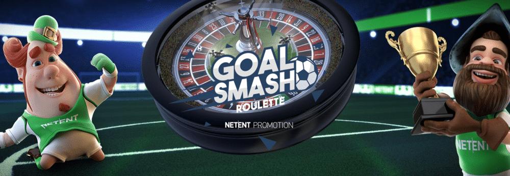 Goal Smash Roulette ja hurja 75 000 € palkintopotti