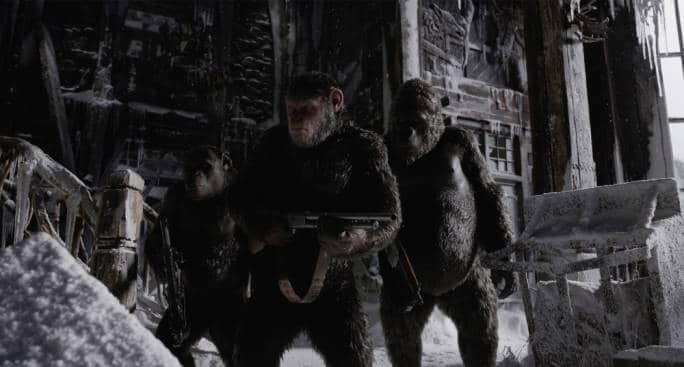 """""""Planet of the Apes"""" -pelin suurisuuntainen julkaisu"""