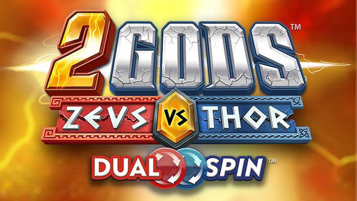Slots 2 Gods Zeus Vs Thor Yggdrasil Gaming Logo