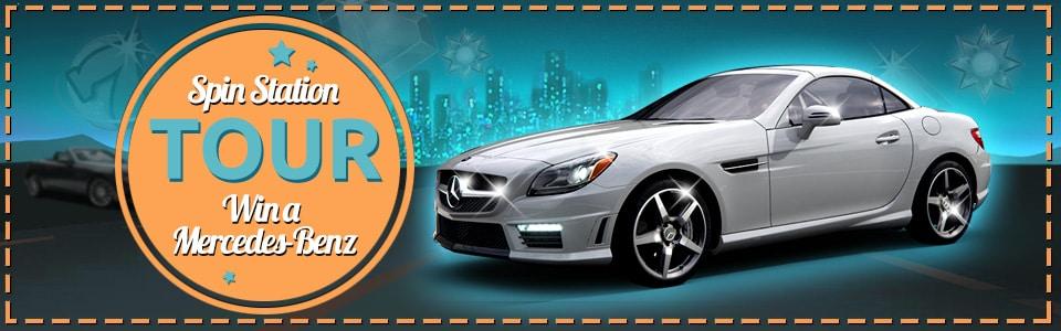 Voita Mercedes-Benz SLC Spin Stationilla